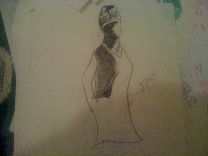 fashion - anasse's drawing
