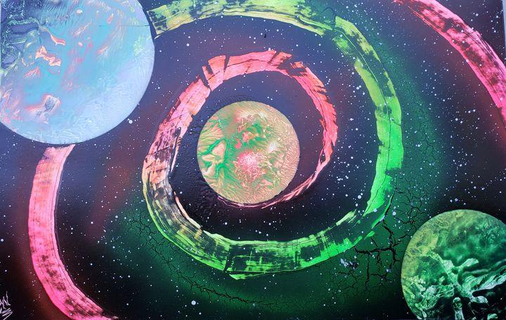 Space Spiral - David Wood