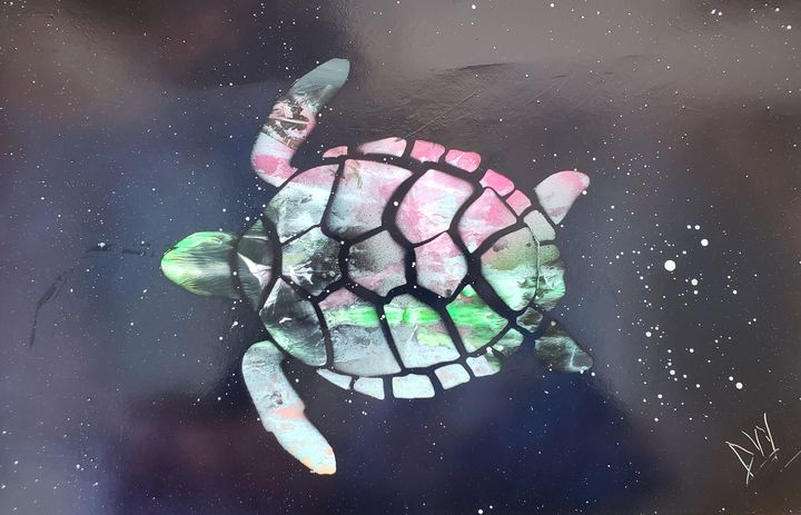 Space Turtle - David Wood