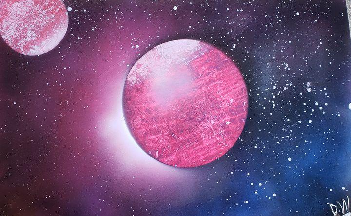 Pink Planets - David Wood