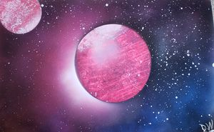 Pink Planets