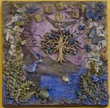 Orignal Mixed Med Painting on Canvas