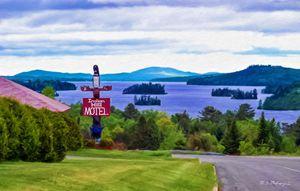Indian Hill View: Moosehead Lake - Saco River Art & Photography