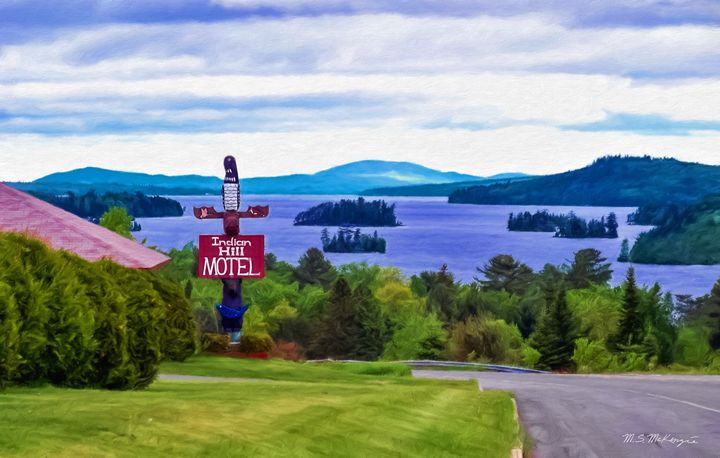 Indian Hill View: Moosehead Lake - Saco River Art & Photography