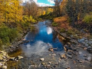 Autumn in Vermont, Woodstock