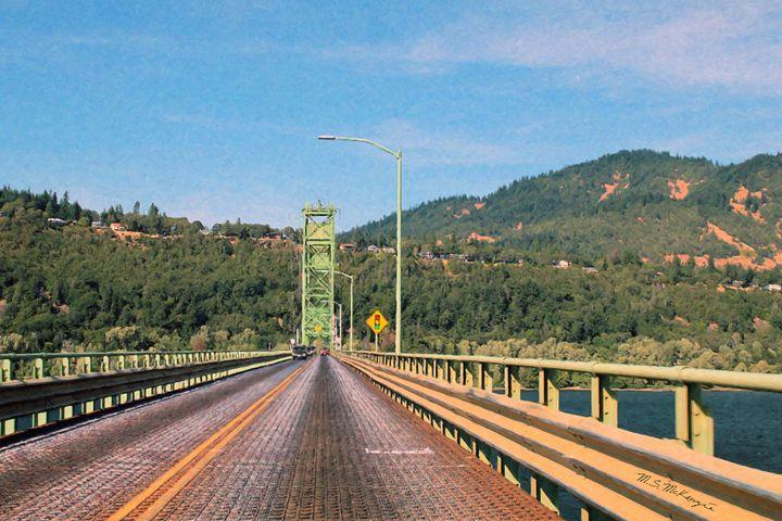 Hood River Bridge - Saco River Art & Photography