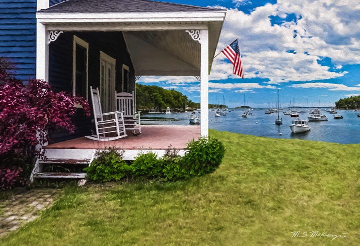 The Fourth of July Rockport, ME - Saco River Art & Photography