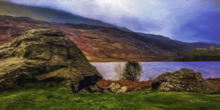 Rainy day in Snowdonia, N. Wales - Saco River Art & Photography