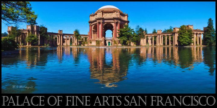 Palace of Fine Arts, San Francisco - Saco River Art & Photography