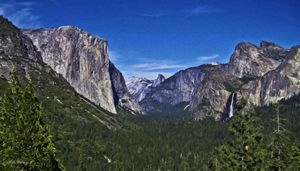Yosemite Valley and Bridal Veil Fall - Saco River Art & Photography