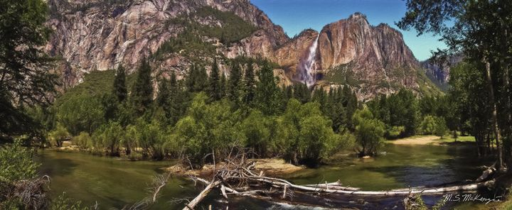 Yosemite River Valley - Saco River Art & Photography