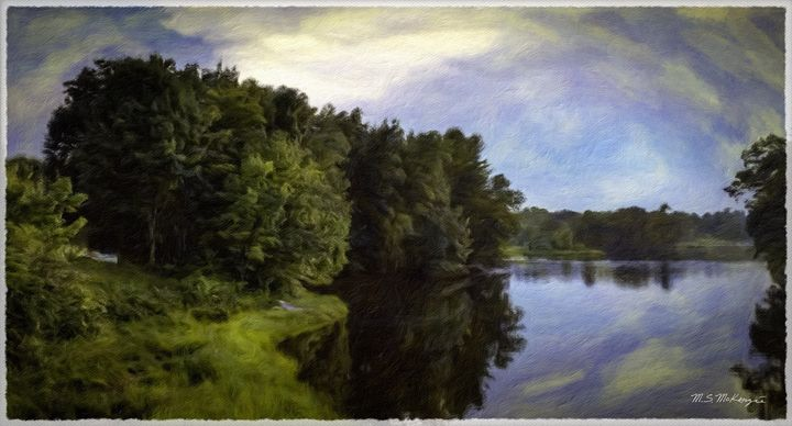 A Lazy Summer Day - Saco River Art & Photography