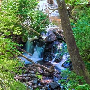 Lower Lattourel Falls