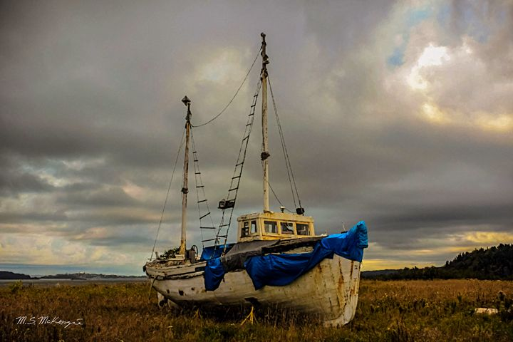 Abandoned But Not Forgotten Lubec ME - Saco River Art & Photography