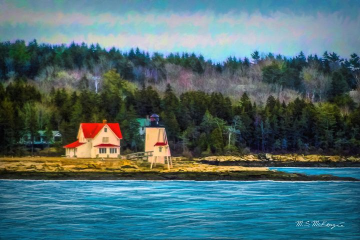 Hendricks Head from Georgetown - Saco River Art & Photography