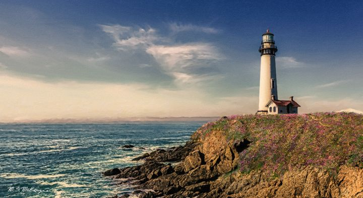 Pigeon Point Light, Marin County, CA - Saco River Art & Photography