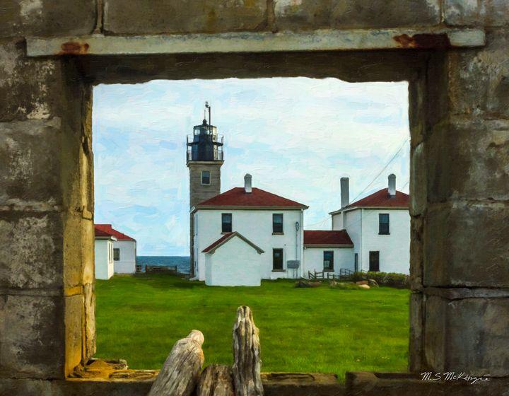 Portal Through Time, Jamestown, RI - Saco River Art & Photography