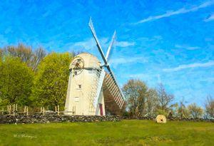 Historic Jamestown, R.I. Windmill