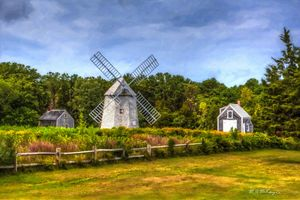 Old Higgins Farm Windmill