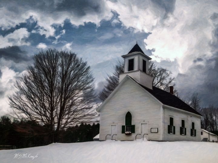 Snowed-In in Snowden, NH - Saco River Art & Photography