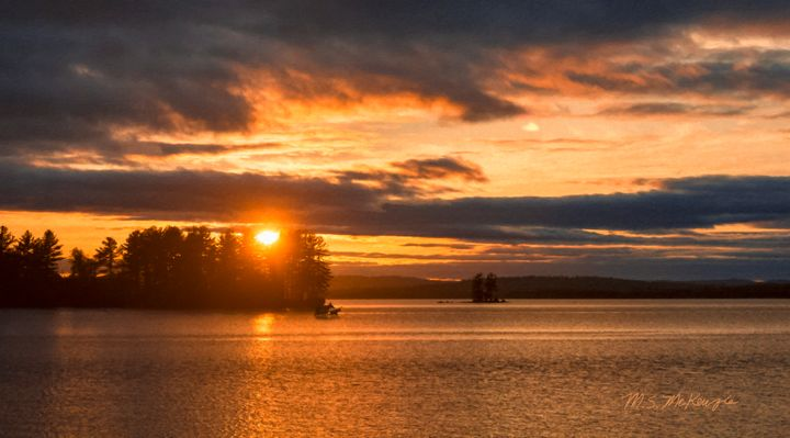 Millinocket Sunset - Saco River Art & Photography