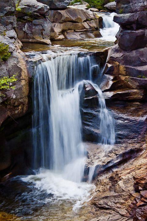 Screw Auger Falls, Grafton Notch, ME - Saco River Art & Photography