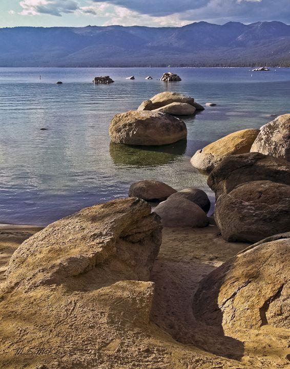 Secret Harbor, Lake Tahoe, NV - Saco River Art & Photography