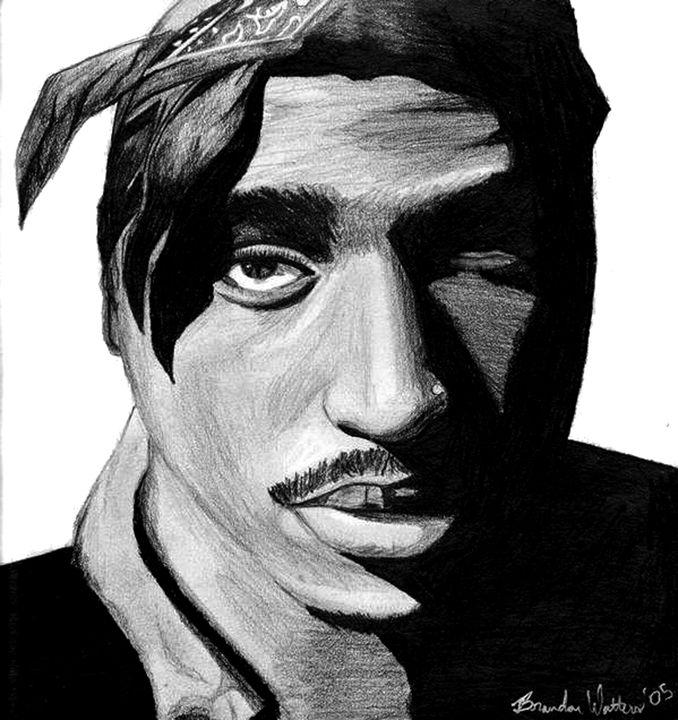Tupac bandana - Watters Art