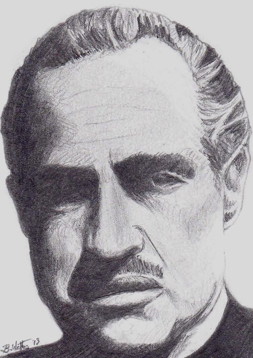 The Godfather - Watters Art
