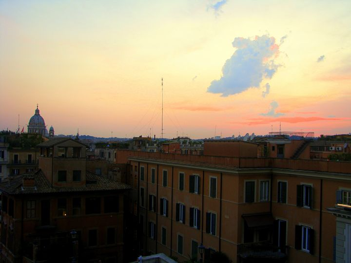 Sunset Over Rome - Madison Combs