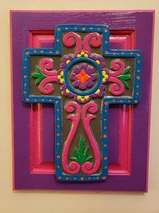 Cross on Cabinet