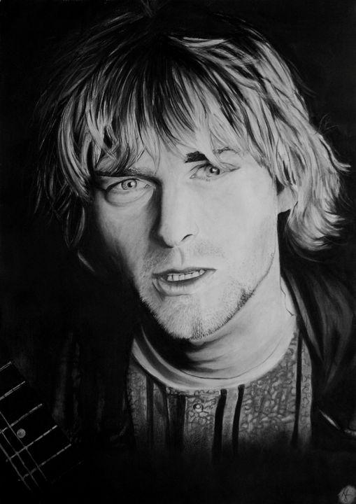 Kurt Cobain - Keybart