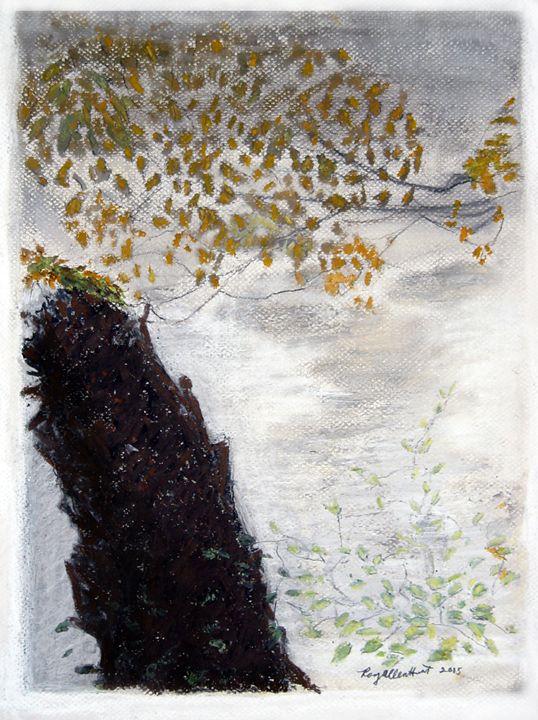 Seen Through the River's Mist - RoyAllenHunt