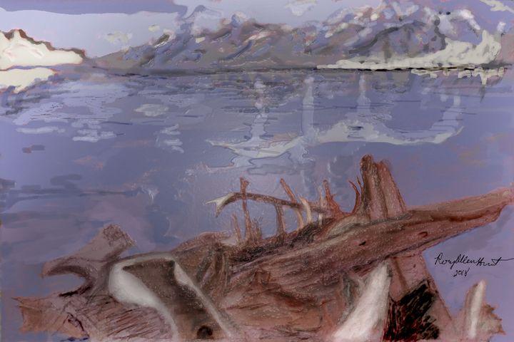 Driftwood - An Ode to Ansel Adams - RoyAllenHunt