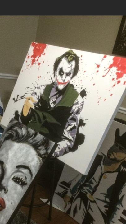 Joker - Kikeart
