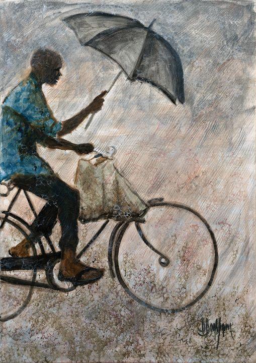 Rider in the Rain - BarX