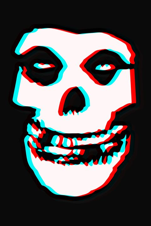 The Misfits 3D Anaglyph - William Bell