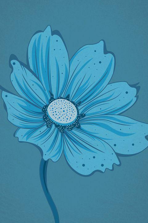 Flower (Blue) - William Bell