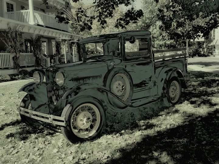 VINTAGE FORD PICKUP TRUCK - SHAYNA PHOTOGRAPHY