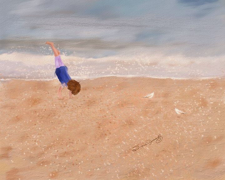 BEACH GYMNASTICS - SHAYNA PHOTOGRAPHY