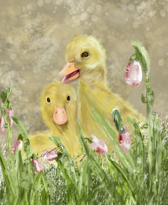 DUCKLING PALS - SHAYNA PHOTOGRAPHY