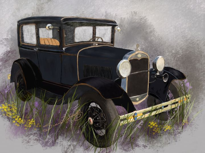 1931 MODEL A FORD - SHAYNA PHOTOGRAPHY