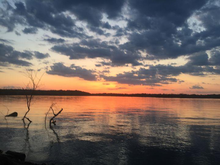 Sunset on the river - Chelsie Edmondson