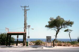 Sea view bus stop