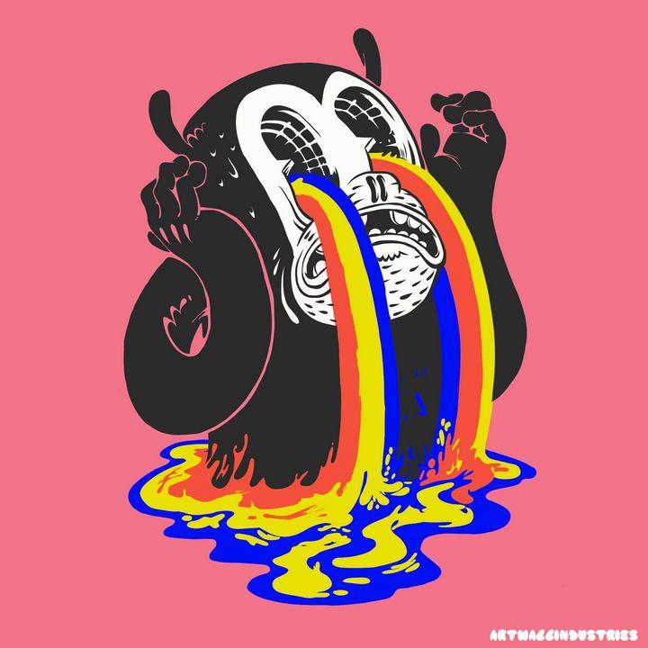 Crying rainbow - AaliyahAyoka