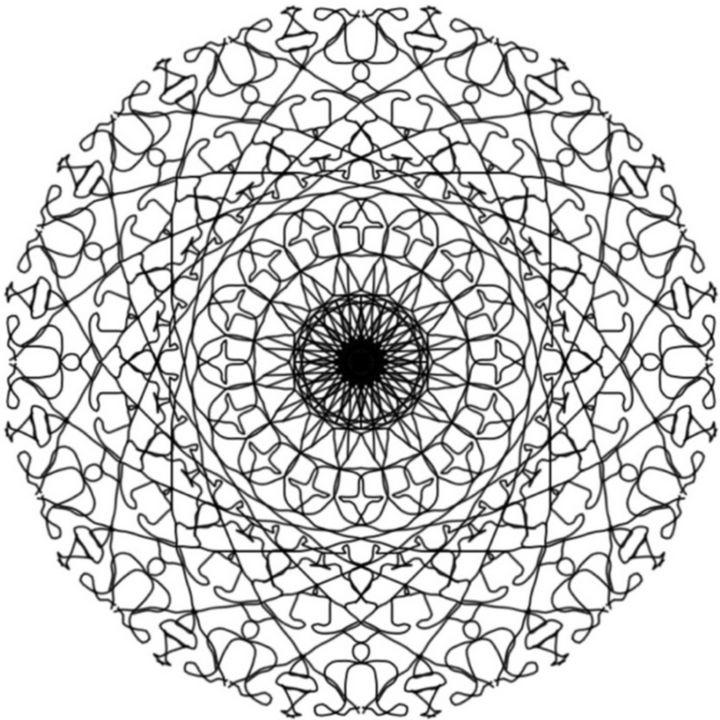 Mandala 1004 - CutifyU Gallery