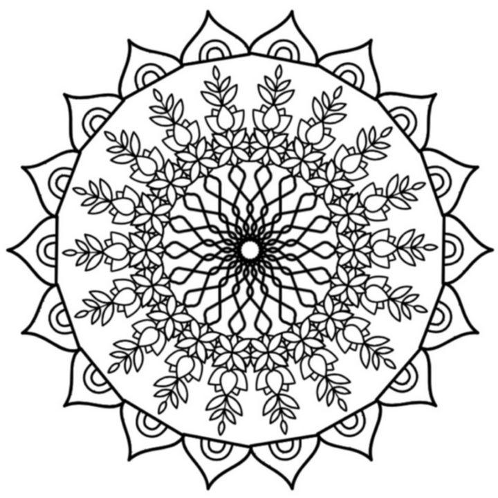 Mandala 1002 - CutifyU Gallery