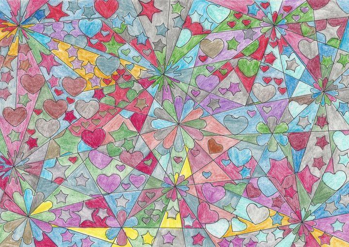 Stars and Hearts - CutifyU Gallery