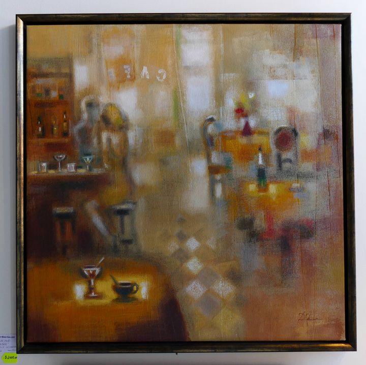 At the Cafe - Elya De Chino - Frame of Mind