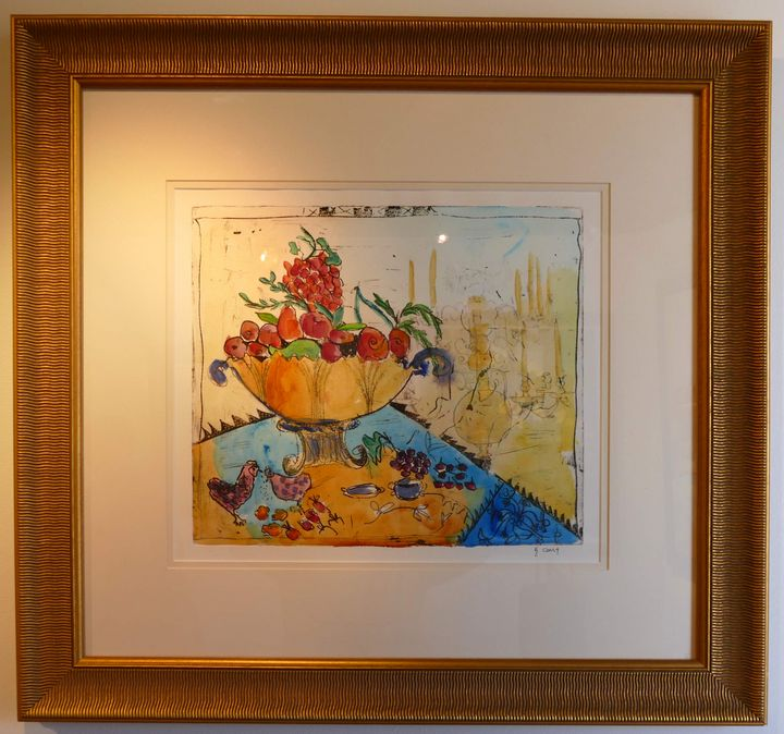 Still Life Bracha Guy Frame Of Mind Paintings